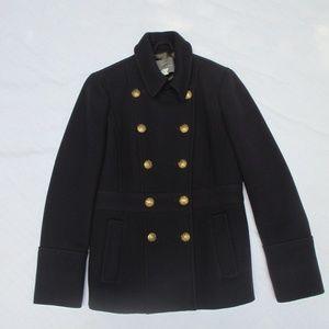 J. Crew Stadium Cloth Pea Coat